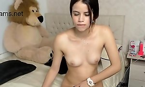 Preety latina teen undresses cam - 22cams.net