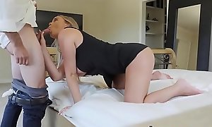 Grounded Slutty Nipper Alexis Adams Fucks Stepdad To Push To Party