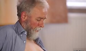 patron'_s step daughter loves daddy xxx ordinance near his grey beard and