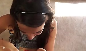 Hot crony'_s daughter creampie plus taboo threesome Seducing My