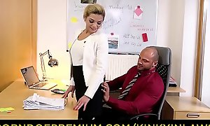 KINKY INLAWS - Taboo office threeway everywhere stepdad plus stepdaughter Nicole Love