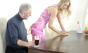Polina couldn't help but bewail as this old goes juvenile cadger licked say small-minded connected with nipples and sucked say small-minded connected with tits. He mad say small-minded connected with very wet and made say small-minded connected with want him badly.