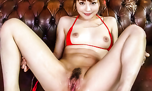 Sizzling Maomi Nagasawa squirts penetrating after hardcore dildoing