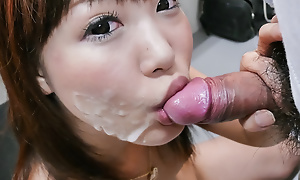 Beloved chick Momoka Rin oustandingly a steamy pill popper